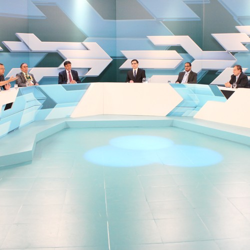 Em debate, Mão Santa e Zé Filho miram em W. Dias, que sobe o tom e críticas