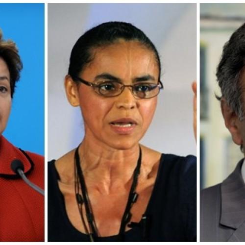 IBOPE | Dilma tem 34%, Marina 29% e Aécio, 19%; Marina venceria eleição no 2ª turno