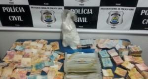 PICOS   Polícia confirma ligação do tráfico com jogo do bicho e apreende R$ 76 mil