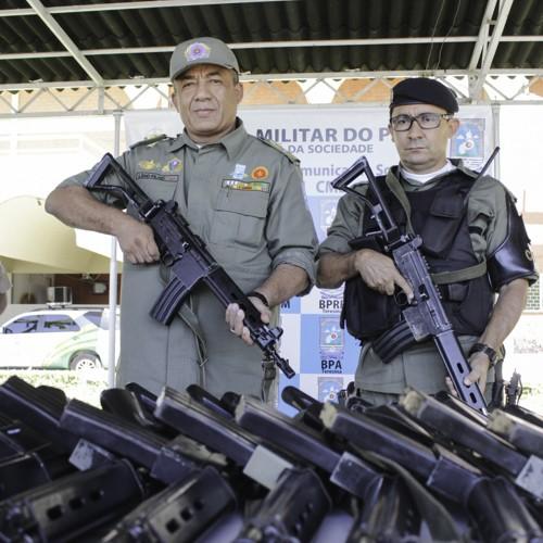 PM recebe equipamentos da Força Nacional e lança operações especiais