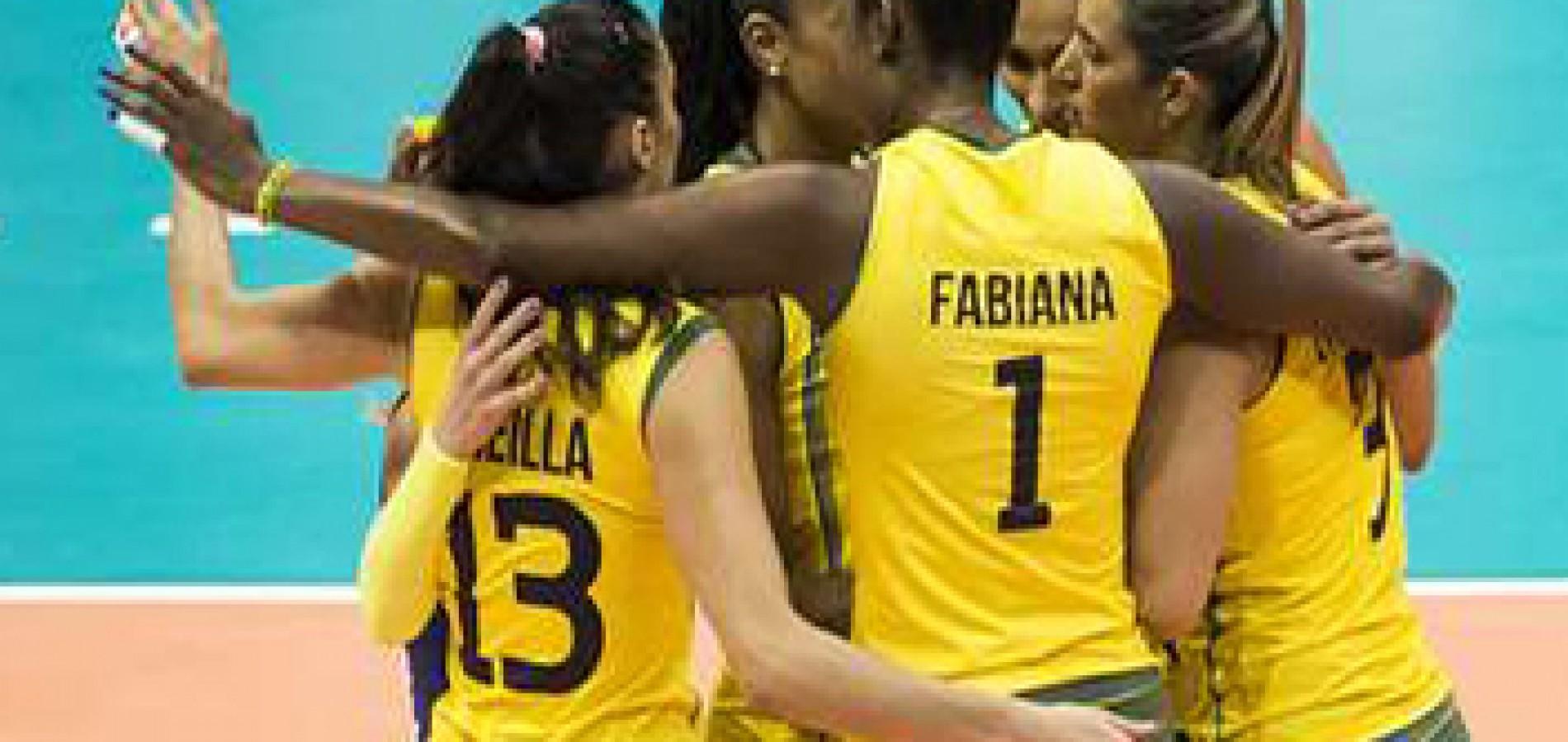 Brasil atropela Coreia no Grand Prix de vôlei