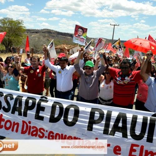 FOTOS   Wellington Dias visita Massapê do Piauí