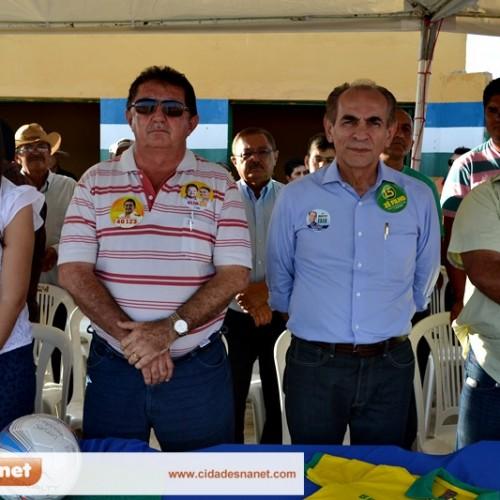 Em campanha, Marcelo Castro e Rubem Martins visitam Belém do Piauí