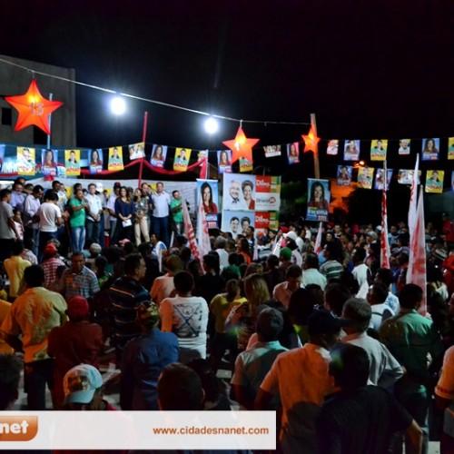 Deputadas Iracema Portela e Belê visitam Massapê e participam de grande comício; veja fotos