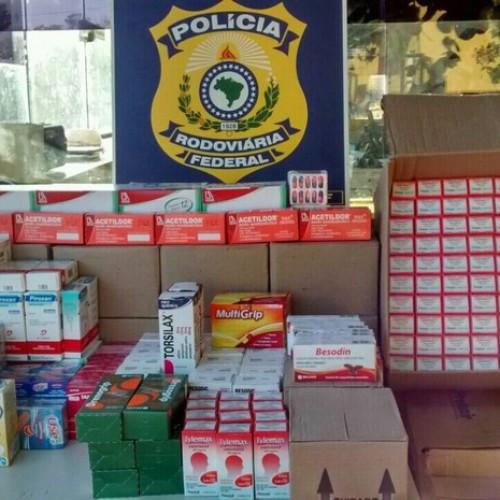 PRF recolhe quase 200 remédios transportados irregularmente no PI