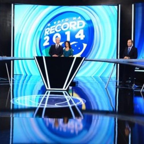 Debate da TV Record reúne sete presidenciáveis; veja como foi