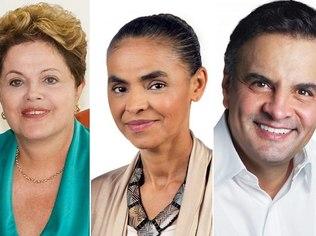 Vox Populi: Dilma tem 36% das intenções de voto; Marina, 27% e Aécio, 15%