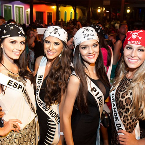 Misses curtem noite de forró e representante do Piauí se destaca