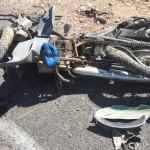 Mãe e filha morrem em colisão envolvendo moto e caminhão em Curral Novo do Piauí