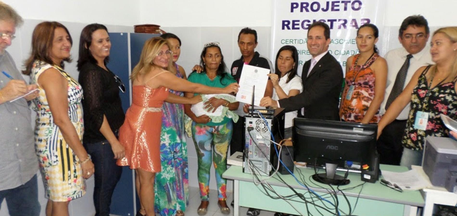 Simões ganha sistema nacional para emissão de resgistro de nascimento