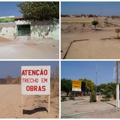 DESCASO | Jaicós se transforma num cemitério de obras paradas. Veja!