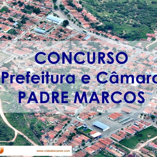PADRE MARCOS | Divulgado gabaritos do concurso da Prefeitura e Câmara. Veja!