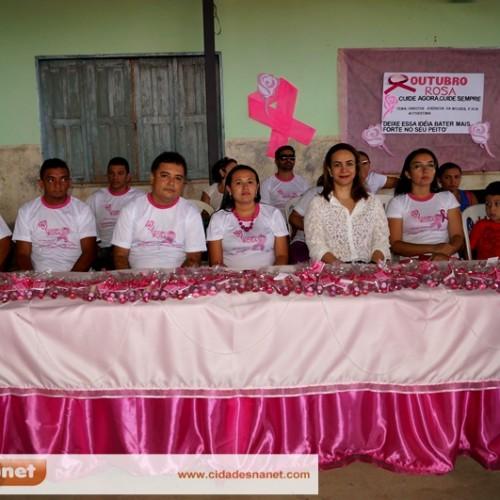 FOTOS | Vera Mendes realiza Campanha Outubro Rosa
