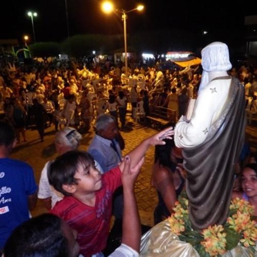 Simões inicia o festejo do padroeiro São Simão