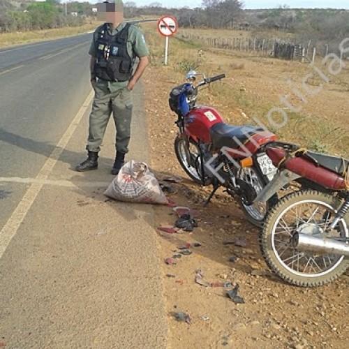 Grave acidente envolvendo duas Motos deixa uma vitima fatal na PI-459 em Betânia do PI