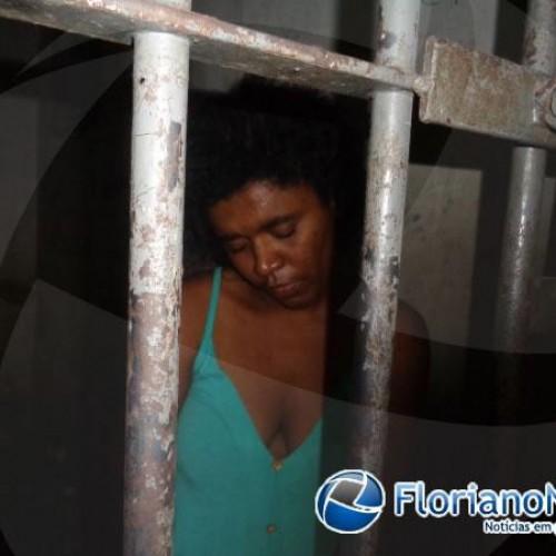 Mulher com transtorno mental é suspeita de matar o irmão com golpe de faca em Floriano; fotos