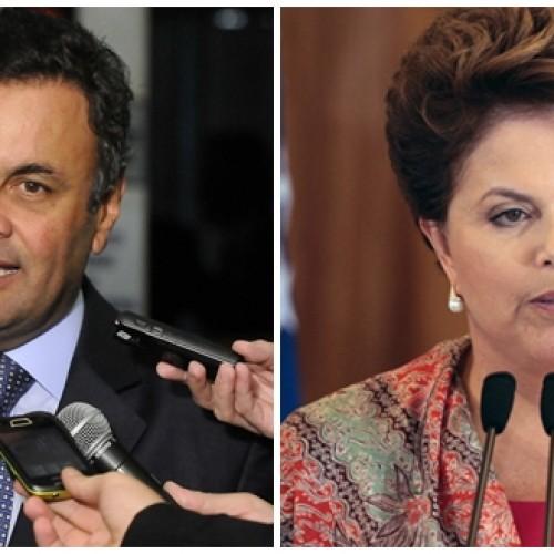 Aécio abre 17 pontos  à frente de Dilma