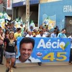 Ato reúne apoiadores de Aécio Neves nas ruas de Picos
