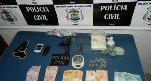 Polícia apreende quase um quilo de cocaína na zona rural de Sussuapara