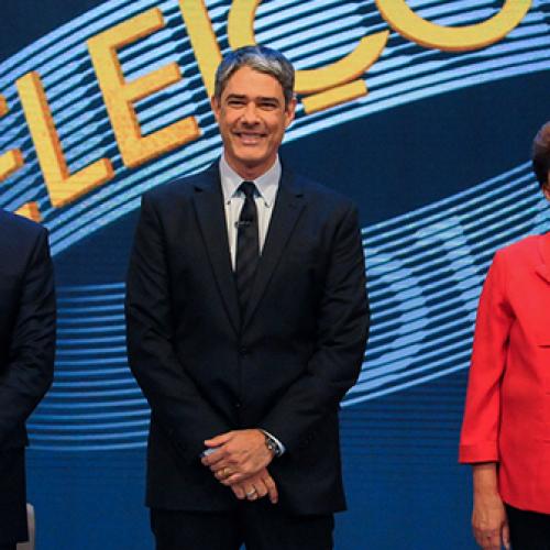 Confira como foi o último debate entre os  presidenciáveis promovido pela Rede Globo