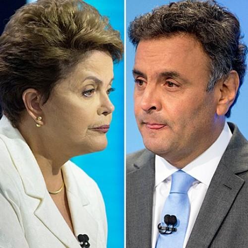 Aécio e Dilma amenizam o tom e discutem propostas em novo debate