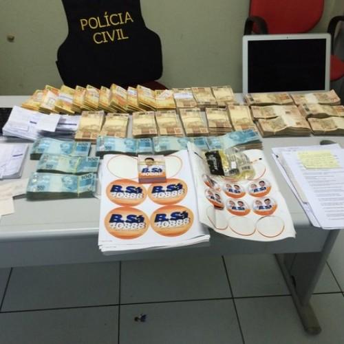 Operação resulta em três prisões e apreensão de R$ 213 mil no Piauí