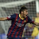 Neymar assombra a Europa e supera Romário, Rivaldo e Ronaldinho