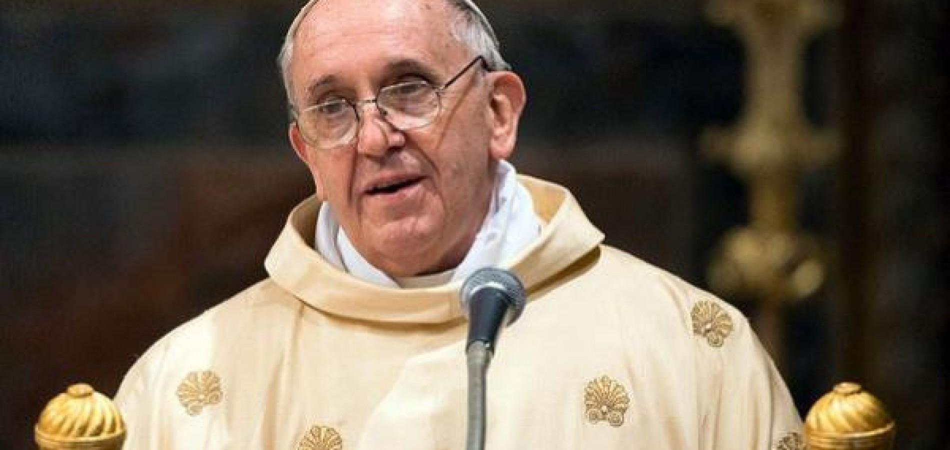 Papa Francisco pede proibição mundial à pena de morte
