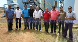 Em busca de soluções para falta de água, prefeito de Simões visita a barragem Poço de Marruá