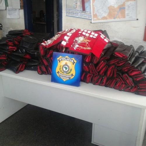 Polícia apreende semi joias e calçados sem nota fiscal no Piauí