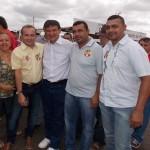 Caravana de Jaicós acompanha Wellington Dias em evento pró-Dilma em Picos