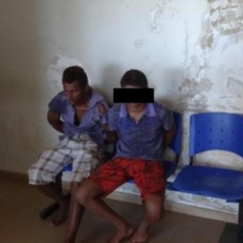 Dupla de assaltantes é presa pela Força Tática de Picos; Fotos