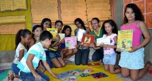 FOTOS | Projeto de Leitura da Escola Municipal de Jaicós, Líria Alencar