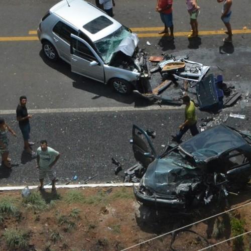 Mãe de bebê vítima de acidente não resiste a ferimentos e morre no HUT