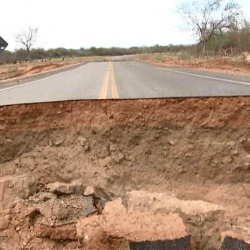 Cinco meses depois, rodovia que liga Betânia a Paulistana segue cortada