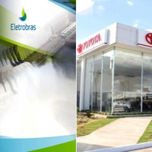 Eletrobras e Toyota do Brasil sofrem bloqueios milionários no estado do Piauí