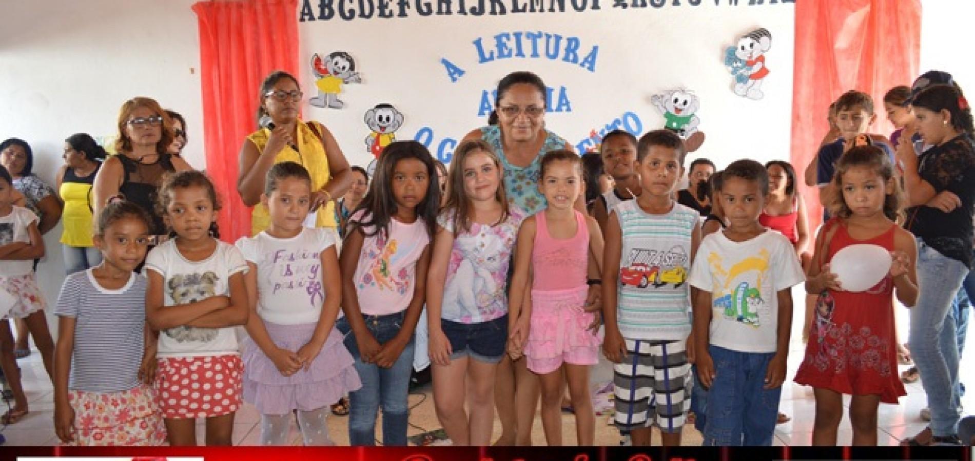 JAICÓS |  Escola Municipal Pe. David realiza culminância do Projeto de Leitura