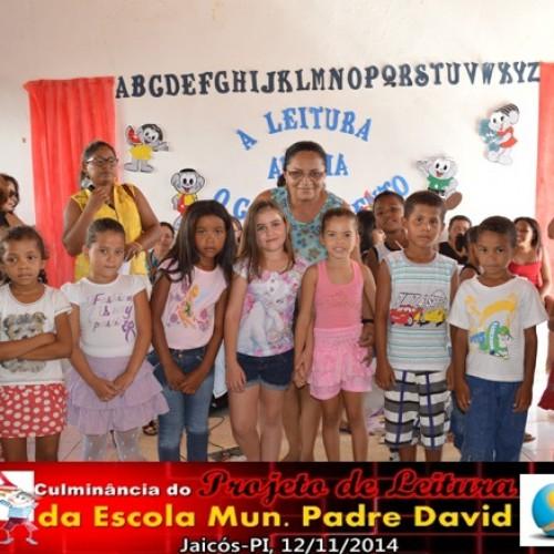 JAICÓS    Escola Municipal Pe. David realiza culminância do Projeto de Leitura