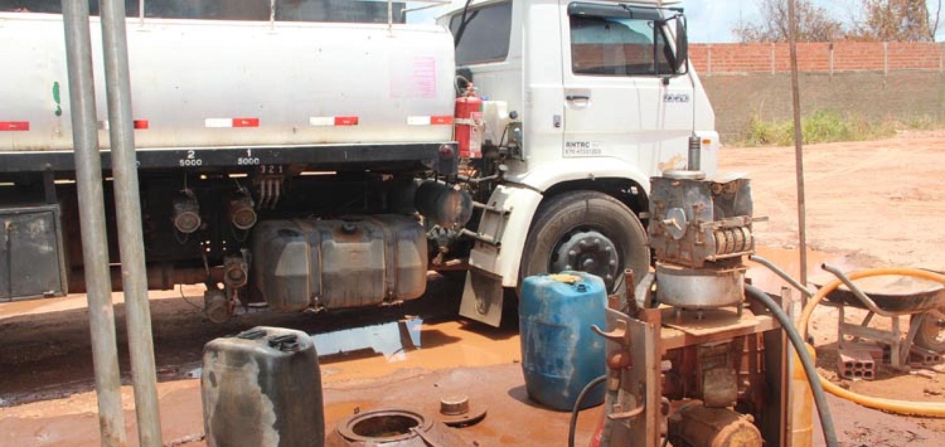 Polícia investiga maior adulteração de combustíveis no Piauí; Oito são presos