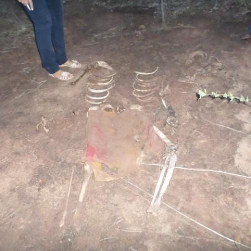 Ossada humana é encontrada no interior do Piauí