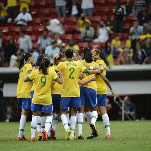 Brasil vence China e decide o Torneio contra os EUA