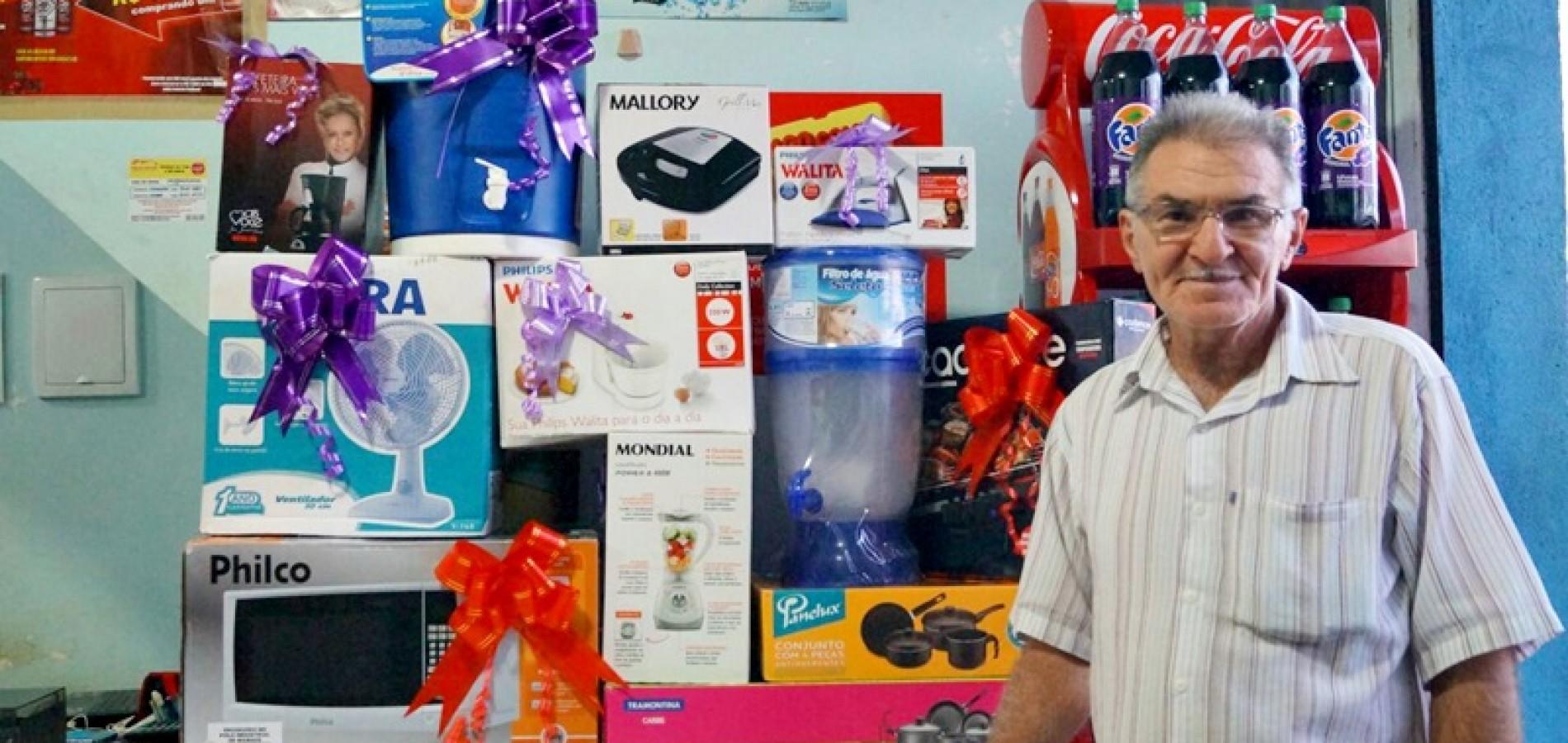 MASSAPÊ | Mercadinho Odon realiza sorteio de final de ano; veja os ganhadores