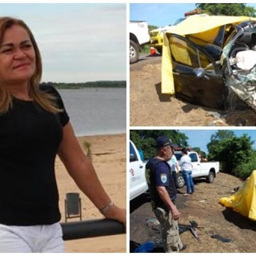 Jaicoense e esposo morrem em acidente no Mato Grosso do Sul; filhos ficam feridos