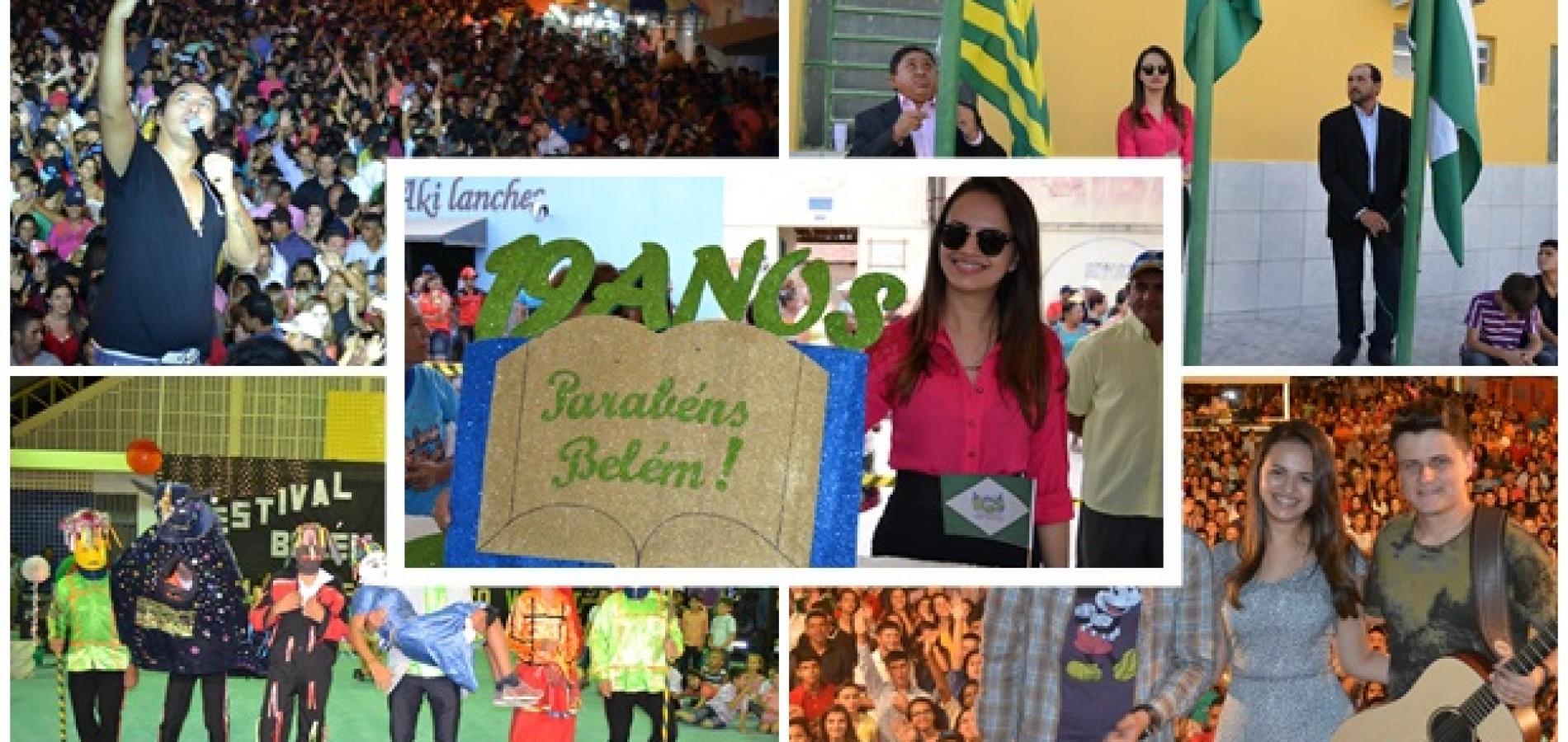 Veja a cobertura fotográfica dos melhores momentos do aniversário de Belém do Piauí