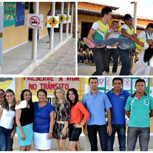FOTOS | Culminância do projeto na Escola Monte Sinai, em Belém do PI