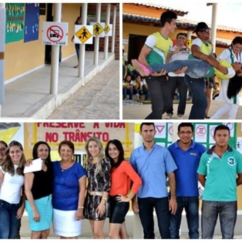 BELÉM | Trânsito é tema de projeto educacional na Escola Monte Sinai; veja fotos