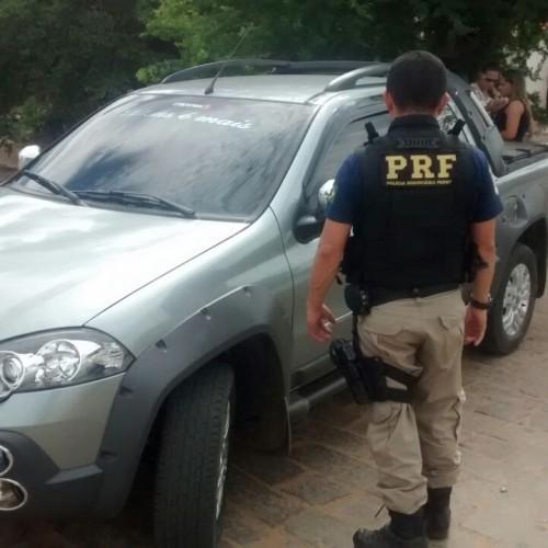 PRF recupera mais um veículo roubado em município do Piauí