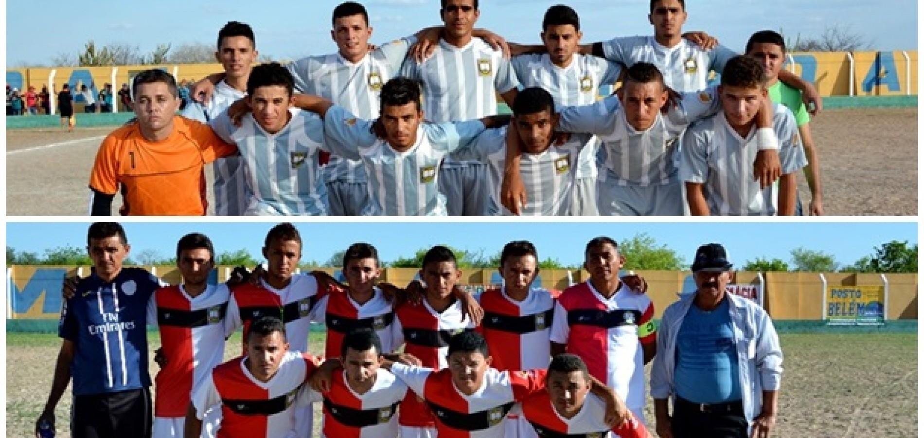 Juventude e Carquejo estão na final do Campeonato de Belém do Piauí