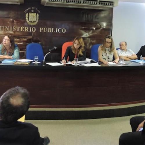 Promotores discutem a situação dos Matadouros Públicos no Piauí