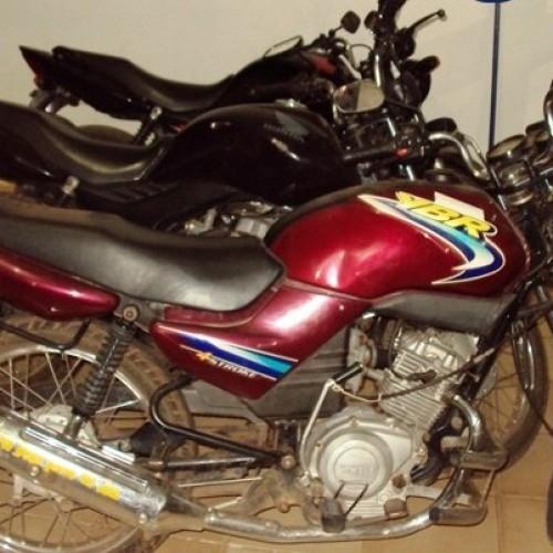 Operação consegue recuperar quatro motos roubadas